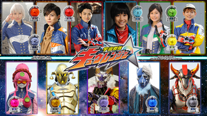 Kyuranger wallpaper #1 (another update) by nobuharuudou