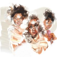 Pointer Sisters by ChloeC
