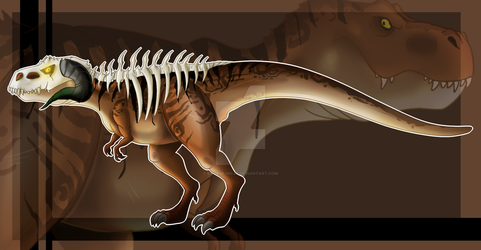 Necro T-Rex Adopt Auction  [CLOSED] by Savage-Mojo