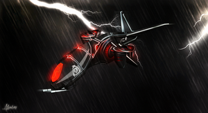 Lost in the storm by alcrd119