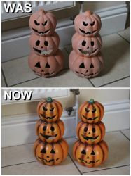 Pumpkins Was and Now. by Joker-laugh