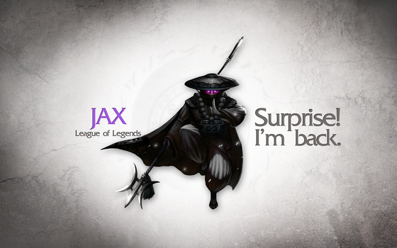 League of Legends Wallpaper - Jax by deSess