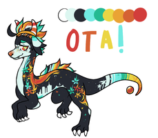 summer dragon OTA CLOSED by gazhelle