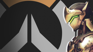 Overwatch Side Profile Wallpaper - Genji by PT-Desu