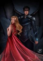 Azriel and Mor by JoPainter