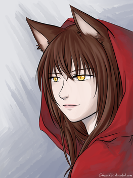 Little Red Riding Wolf by Chuushiri