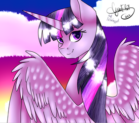 Twilight Sparkle [COLLAB] by Starry-CrystaIs