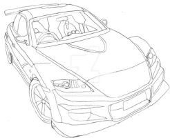 Tuner Car by Disturbed-Minded