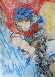 FE Challenge : Ike Radiant Dawn by X-Tidus-kisses