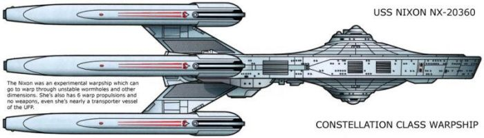 Constellation Class Warpship by SR71ABCD
