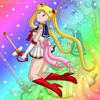 Super Sailor Moon by izka197