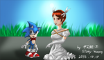 [Request #1]Sonic and Elise by Elinital