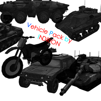 vehicle pack by FireHawkDesigns