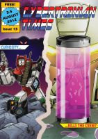 Cybertronian Times Issue 13 by AndyTurnbull