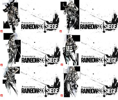 Rainbow 6 Siege Wallpaper set 1 by SkizzleBoots