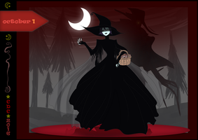 CDC oct: Day 1- Queen of Witches by iCassiekinz