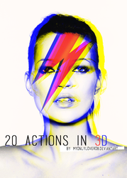 20 ACTIONS in 3D by myonlyloverob