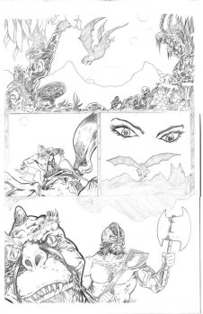 Mouthbreather Pencils page 1 by Dave-Acosta