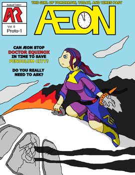 Aeon Comic Prototype Cover by AndroidAR