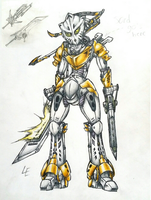 Eltanin, Toa of Light by Llortor