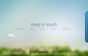 Social Launcher by twistlemon