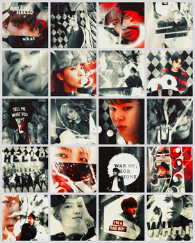 War of Hormone Icons by Smol-Riddle