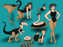 Formas Animales de Carrie by Autobot-7712