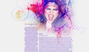 Layout #03 - Selena Gomez by CleoFD
