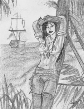 Mysterieux Pirate by FlyGirlPml