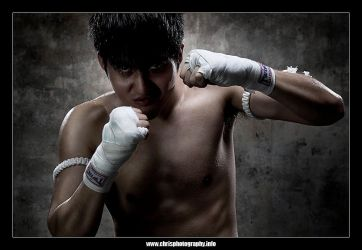 The Fighter by christophertan