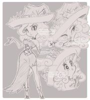 Chrystal cooperson doodles of my little witch by eliana55226838