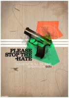 Please Stop The Hate by mujiri
