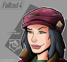 Piper Wright - Fallout 4 by TyranneDragon