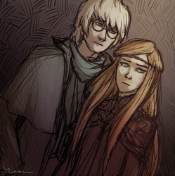 Spectacles and Red-hair from Bookwyrms by Simbelmina