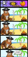 STW Homework Entry #1 - Pirate VS Orange by epi-centric