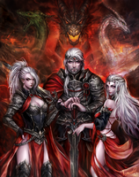The First Targaryen by AireensColor