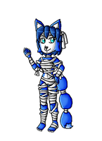 Halloween Collab-Mummy Krystal by ninpeachlover