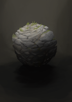 Material Study 5 : Rock by pixg