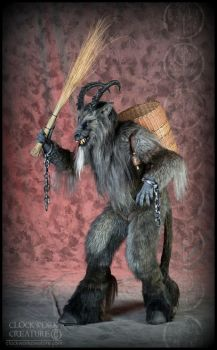Krampus by Qarrezel