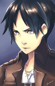 Attack on Titan - Eren Yeager by Rousteinire