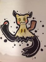 Mimikyu (obviously) by Tayl-Arcantis