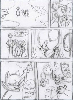 Day in the life Panda Fu Storyboard Pg 1 by hope30789