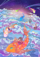 Dream Riders by Imouto-Thi