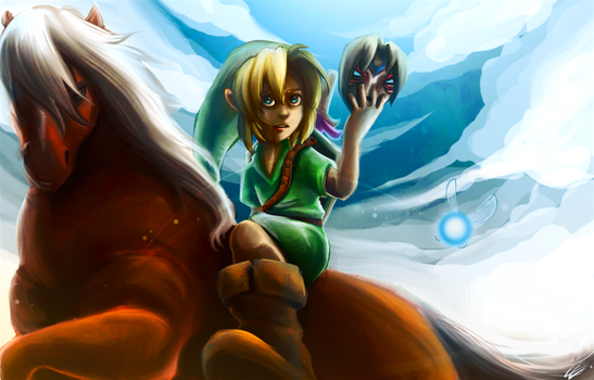 Zelda MM are you ready? by Zita52
