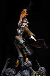 BRIDES UNLEASHED:  The Penitent painted by seankylestudios