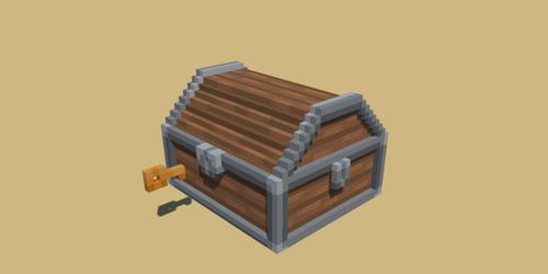 Voxel Art Treasure Chest by rubengcdev