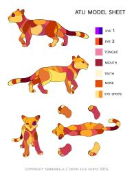 INK Atli Model Sheet by TamberElla