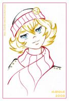 Tima in a scarf by Hardia-999