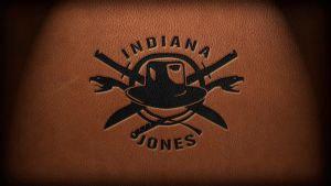 New Indy Logo on Leather by al-xx