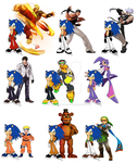 Project: Blue Future - Sonic's Cosplay Pallet by UltimateGameMaster